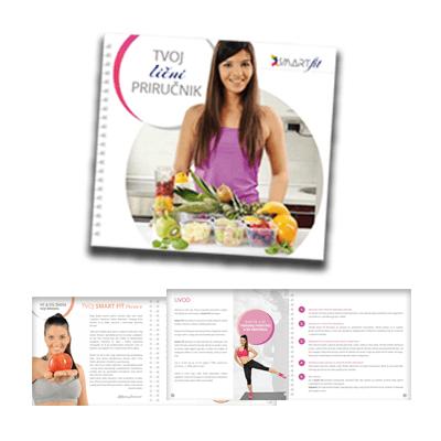 Smart Fit priručnik i jelovnik za plan zdrave ishrane i treninga