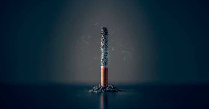 Izgorela cigareta