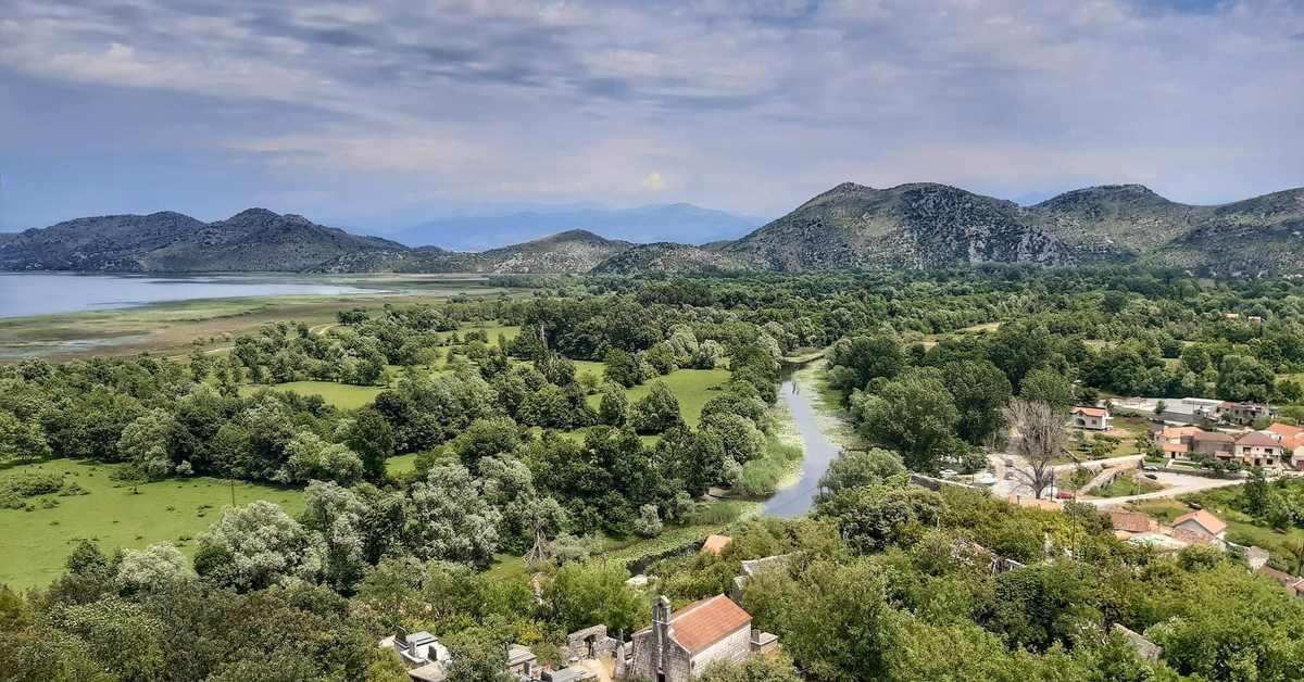 Pogled na prirodu u Crnoj Gori