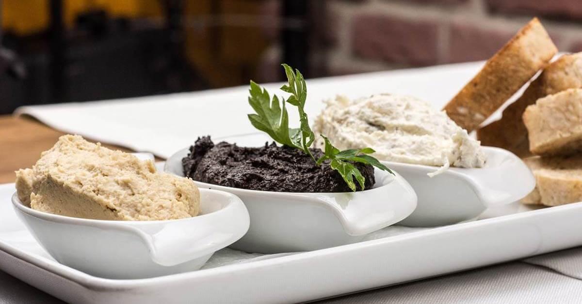 mediteranska dijeta hleb humus namaz