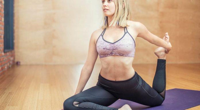 joga vežbanje istezanje