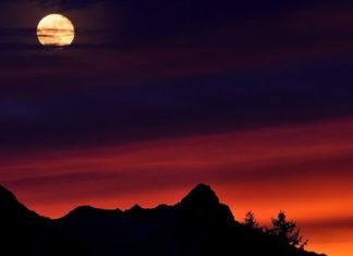 Mesec na nebu - mesečeve mene
