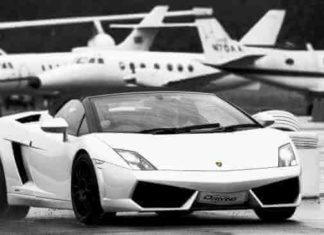 Privatni avion i luksuzni automobil