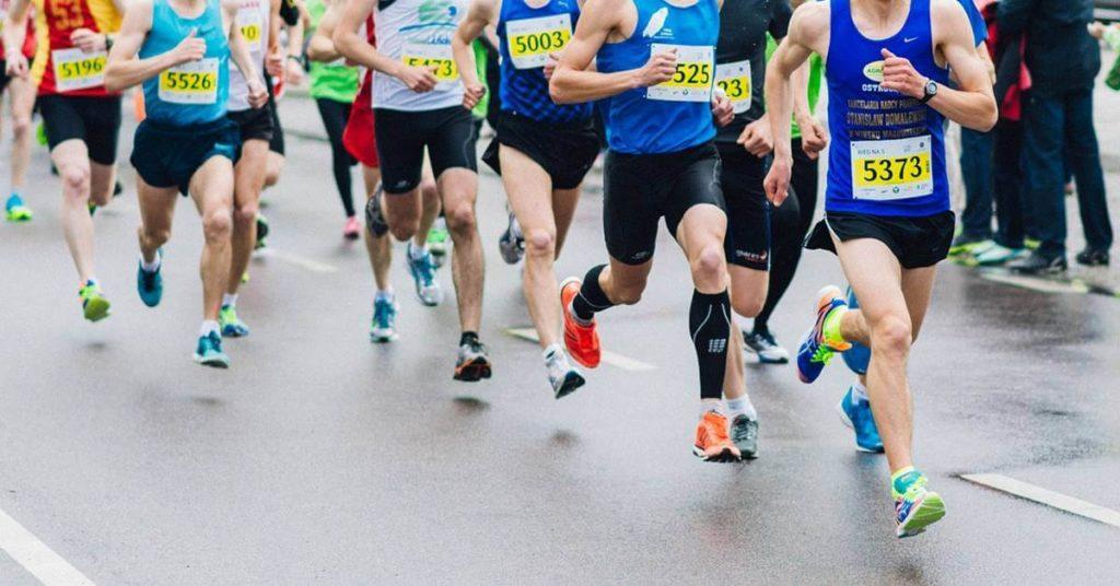 Maratonci učestvuju u trci